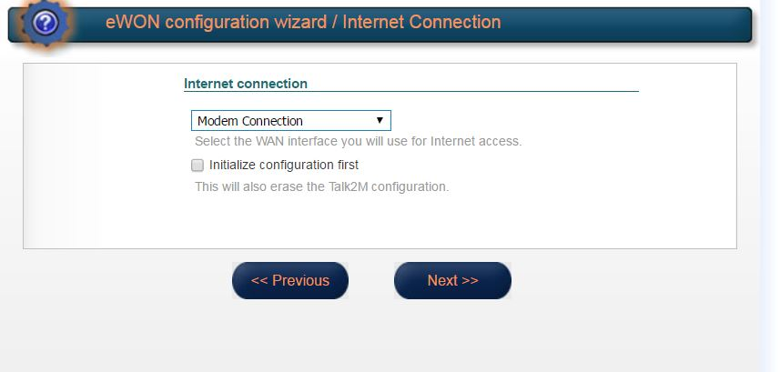 eWon cosy 131 cellular connection setup - eWON Cosy - hms how