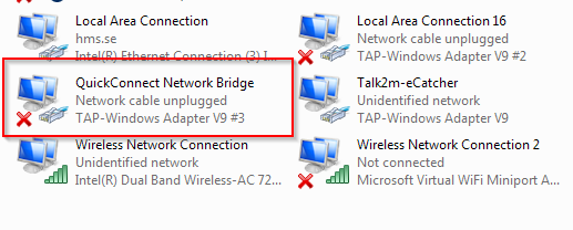 Problem connecting to Netbiter EC350 with QuickConnect